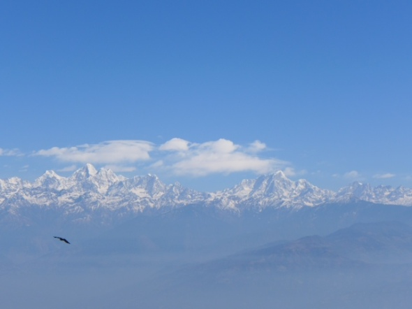 Katmandu, Thursday, February 20, 2014; photograph by Brigitte Lueke; IPhone