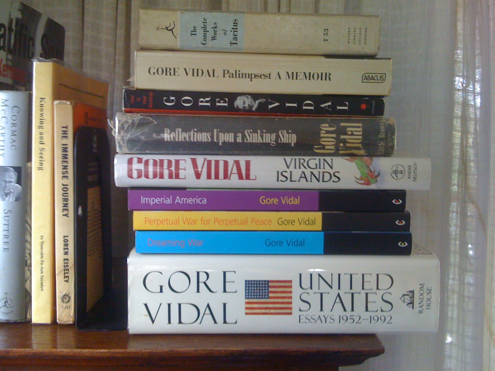 essays by gore vidal Item Preview