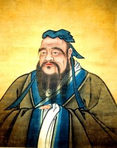 Confucius, born 511 B.C.