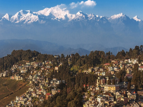Mount Kangchenjunga from Darjeeling